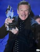 "Robin Williams "" People's Choice Award "" Signed 11x14 Photo JSA"