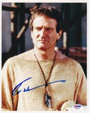 Robin Williams Signed 8x10 Photo Authentic Autograph Psa/dna Coa C