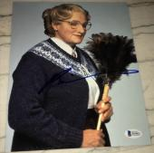 ROBIN WILLIAMS SIGNED AUTOGRAPH CLASSIC MRS. DOUBTFIRE 8x10 PHOTO BAS BECKETT