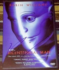 "Robin Williams Signed Autograph New ""bicentennial Man"" Official Dvd With Coa"