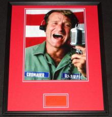 Robin Williams Signed Framed 16x20 Photo Poster Display Good Morning Vietnam