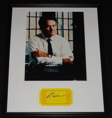 Robin Williams Signed Framed 16x20 Photo Poster Display Good Will Hunting