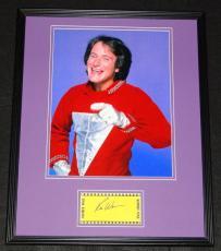 Robin Williams Signed Framed 16x20 Photo Poster Display Mork & Mindy