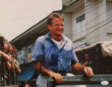 "Robin Williams Signed ""Good Morning Vietnam"" 14x11 Photograph- JSA COA"