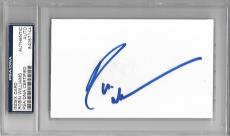 Robin Williams Signed Index Card Mint - COA - Good Will Hunting - Mrs. Doubtfire