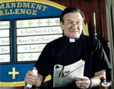 Robin Williams Signed License to Wed Authentic 11x14 Photo PSA/DNA #S23168