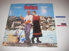 ROBIN WILLIAMS Signed POPEYE SOUNDTRACK Album w/ PSA COA