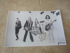 Robin Zander Cheap Trick Autographed Signed 11x17 Photo PSA Guaranteed