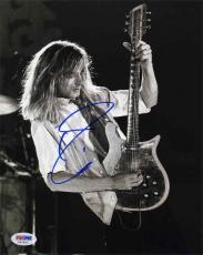 Robin Zander Cheap Trick Autographed Signed 8x10 Photo Certified PSA/DNA COA