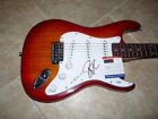 Robin Zander Cheap Trick Signed Autographed Electric Guitar PSA Certified