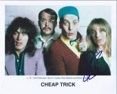 Robin Zander Signed Autographed 8x10 Photo Cheap Trick Lead Singer B