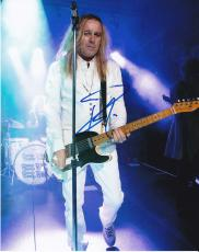Robin Zander signed Cheap Trick Dream Police Music 8x10 photo W/Coa #5