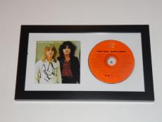 "Robin Zander Signed Framed ""heaven Tonight"" Cd Cheap Trick Autographed Proof"