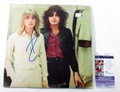 Robin Zander Signed LP Record Album Cheap Trick Heaven Tonight w/ JSA AUTO