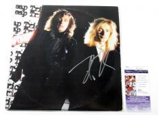 Robin Zander Signed LP Record Album Cheap Trick Lap of Luxury w/ JSA AUTO