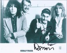 Robin Zander & Tom Petersson Signed Autographed 8x10 Photo Cheap Trick A