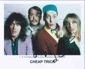 Robin Zander & Tom Petersson Signed Autographed 8x10 Photo Cheap Trick B