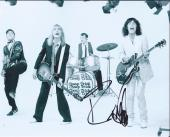 Robin Zander & Tom Petersson Signed Autographed 8x10 Photo Cheap Trick C
