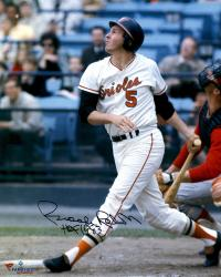 "Brooks Robinson Baltimore Orioles Autographed 16"" x 20"" Photograph with HOF 1983 Inscription"