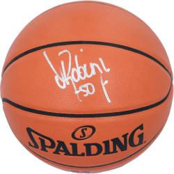 Spalding David Robinson San Antonio Spurs Full Size Autographed Basketball