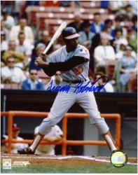 "Frank Robinson Baltimore Orioles Autographed 8"" x 10"" Photograph"