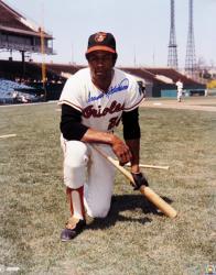 Frank Robinson Baltimore Orioles Autographed 16x20 Photo