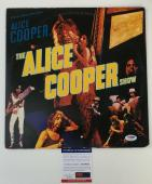 ROCK AND ROLL HOF!!! Alice Cooper Signed THE ALICE COOPER SHOW LP Album PSA/DNA