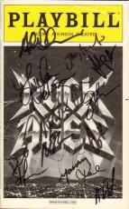 Rock Of Ages Autographed Playbill x13 Cast Members Signed COA AFTAL
