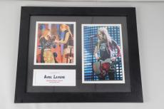 Rock Star – Avril Lavigne Signed 8×10 Photo Display COA 100% Authentic 9132