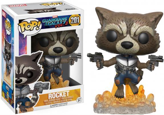 Rocket Guardians of the Galaxy #201 Funko Pop!