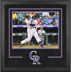 "Colorado Rockies Deluxe 16"" x 20"" Horizontal Photograph Frame - Mounted Memories"
