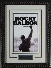 "Rocky 6 - Framed 11x17"" Publicity Movie Poster"