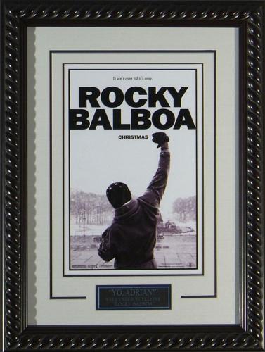 "Rocky 6 - Framed 11x17"" Publicity Movie Poster"