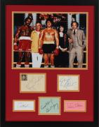 Rocky Cast Autographed Collage with Multiple Signatures - PSA