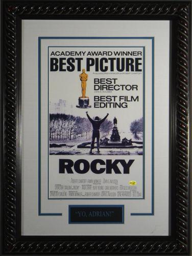 Rocky Framed 11×17 Movie Poster – Sylvester Stallone