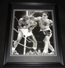 Rocky Marciano vs Ezzard Charles Framed 8x10 Poster Photo