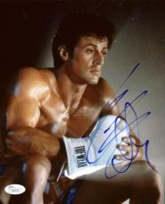 Rocky Sylvester Stallone Signed Autographed 8x10 Photograph JSA Authentic