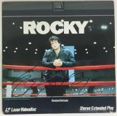 "Rocky Sylvester Stallone Signed Autographed Rocky 12"" Album Laserdisc PSA/D"
