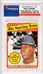 Rod Carew Minnesota Twins 1969 Topps A.S. #419 Card
