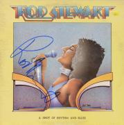 Rod Stewart Autographed A Shot of Rhythm & Blues Album Cover - PSA/DNA COA