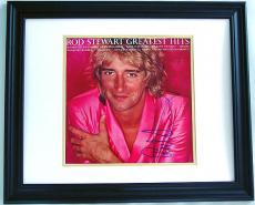 ROD STEWART Autographed Album -GREATEST HITS PSA/DNA