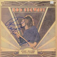 Rod Stewart Autographed Every Picture Tells A Story Album - PSA/DNA COA