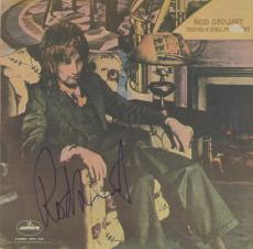 Rod Stewart Autographed Never a Dull Moment Album Cover - PSA/DNA COA