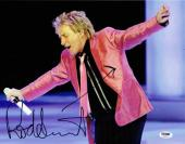 Rod Stewart Autographed Signed 11x14 Photo Certified Authentic PSA/DNA COA
