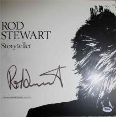 Rod Stewart Autographed Signed Album Flat Certified PSA/DNA AFTAL COA