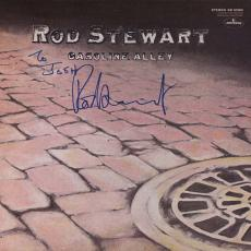 Rod Stewart Autographed Signed Gasoline Alley Record Album UACC AFTAL
