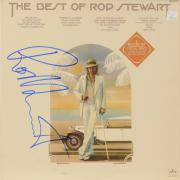Rod Stewart Autographed The Best of Rod Stewart Album Cover - PSA/DNA COA