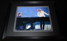 Rod Stewart & Elton John in Concert Framed 8x10 Photo Poster