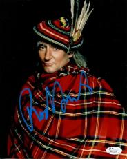 ROD STEWART HAND SIGNED 8x10 COLOR PHOTO        BEST POSE EVER     RARE      JSA