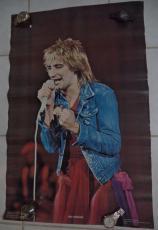 Rod Stewart Music Legend 1978 Original Poster 35x22 Vintage Authentic